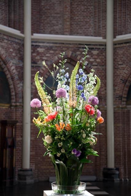 Bruiloft bloemen locatie-styling.