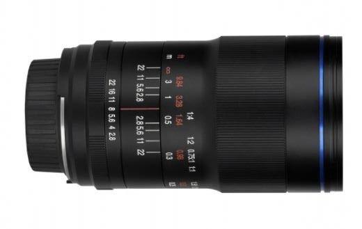 Laowa 100 mm rotated Makrofotografering