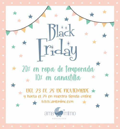 Black Friday descuentos en moda infantil