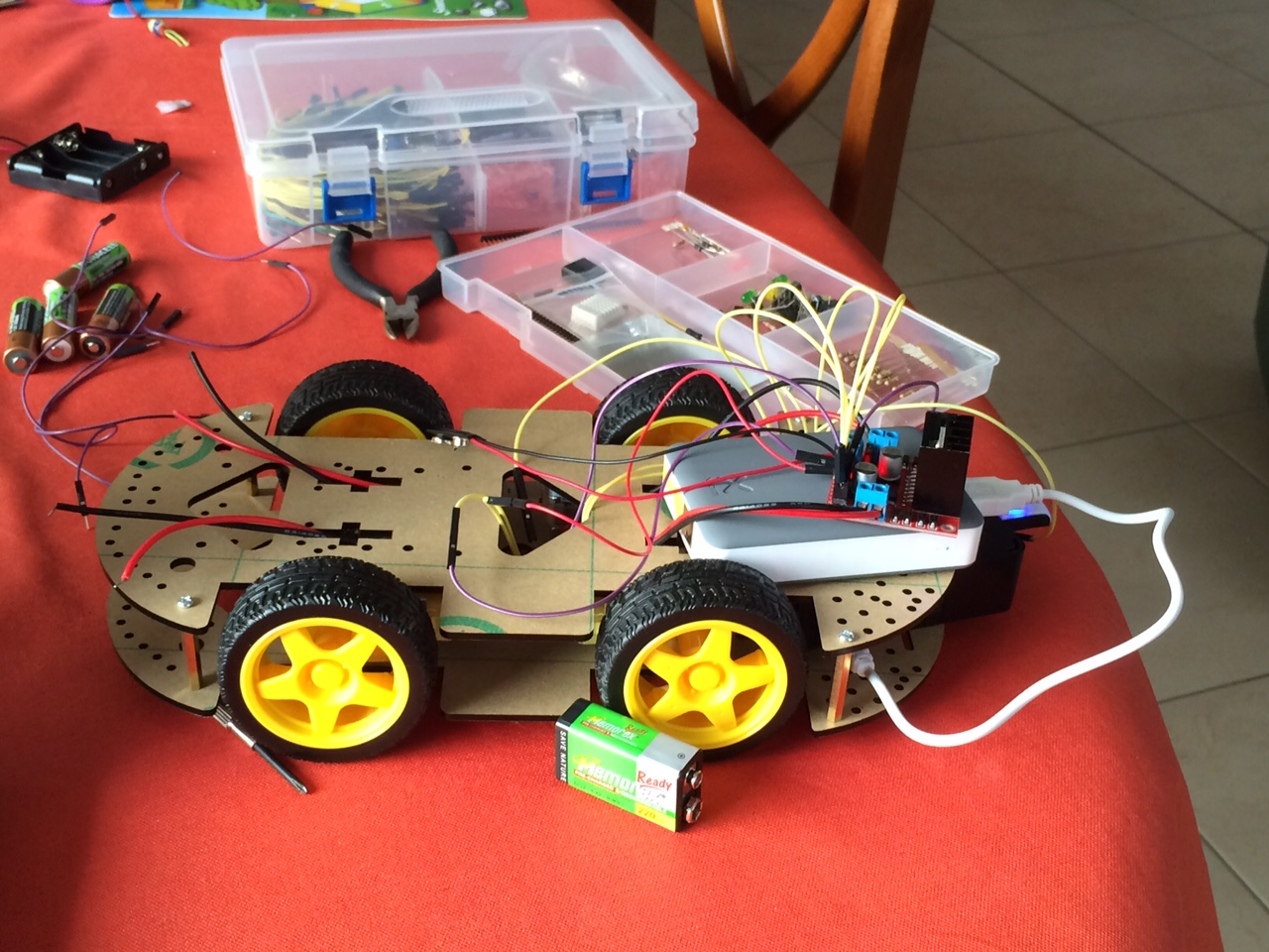 Raspberry Pi Controlled Car