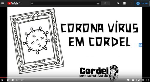 Corona virus em cordel
