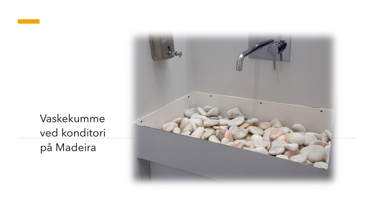 Vaskekumme på Madeira