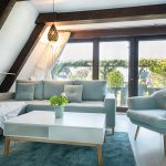 Ferienhaus Küstenkind Wohnzimmer