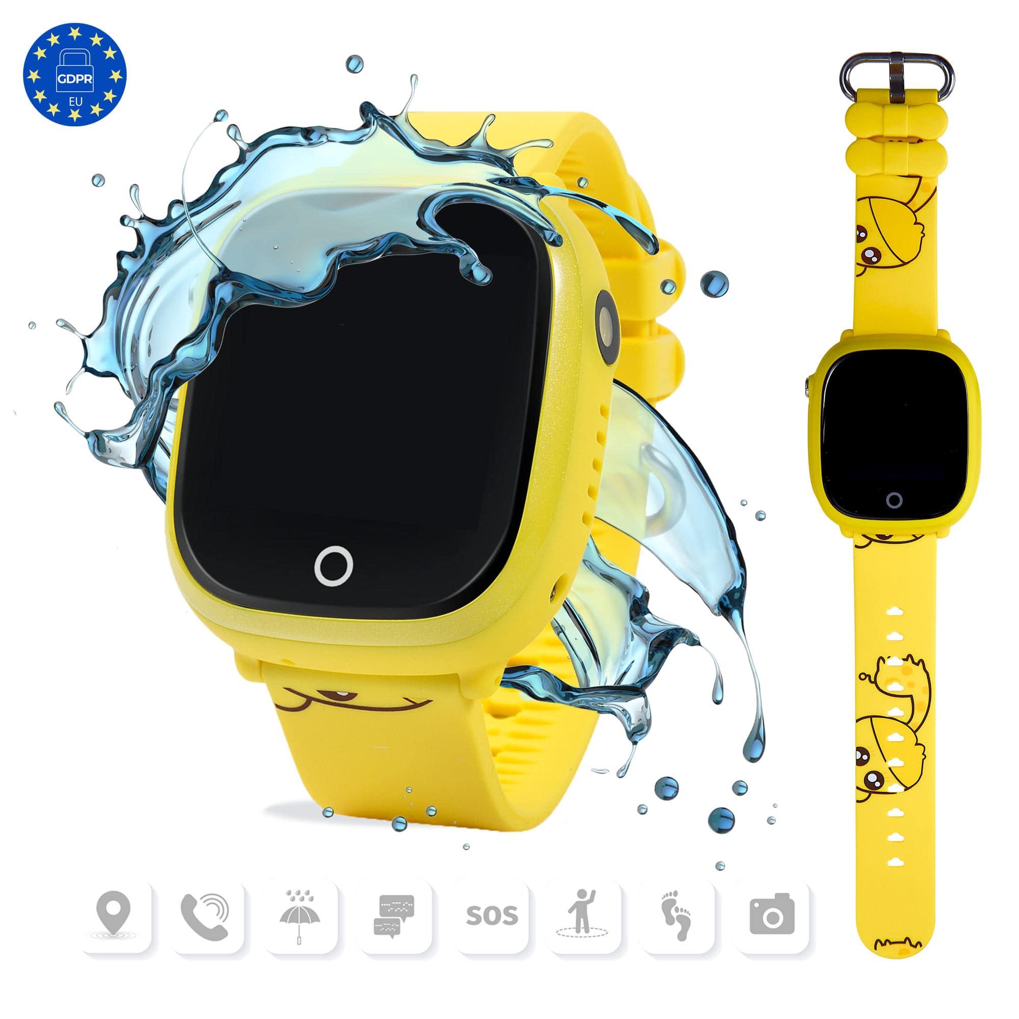 Smartwatch Amarillo GJunior de Gualaru