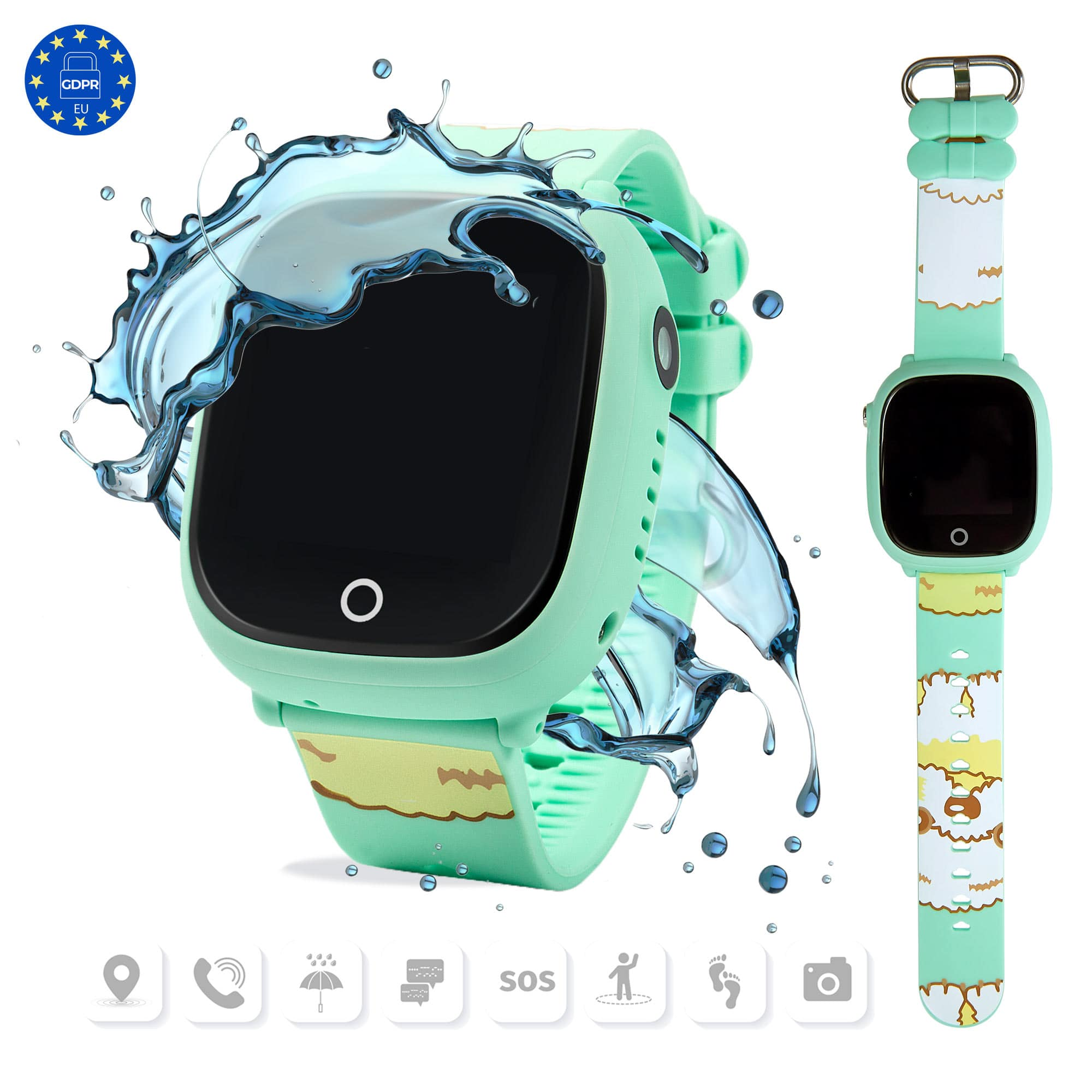 Smartwatch niños verde