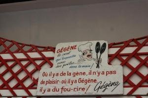 2017 - escapade à Paris - Chez Gégène