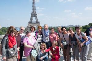 2017 - Escapade à Paris  - le Trocadéro