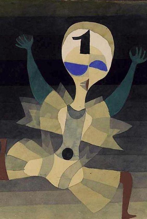 Paul Klee: Løber ved målet