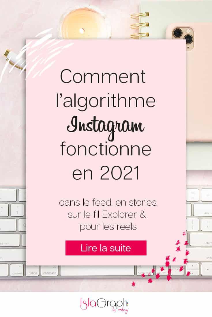 Algorithme Instagram 2021
