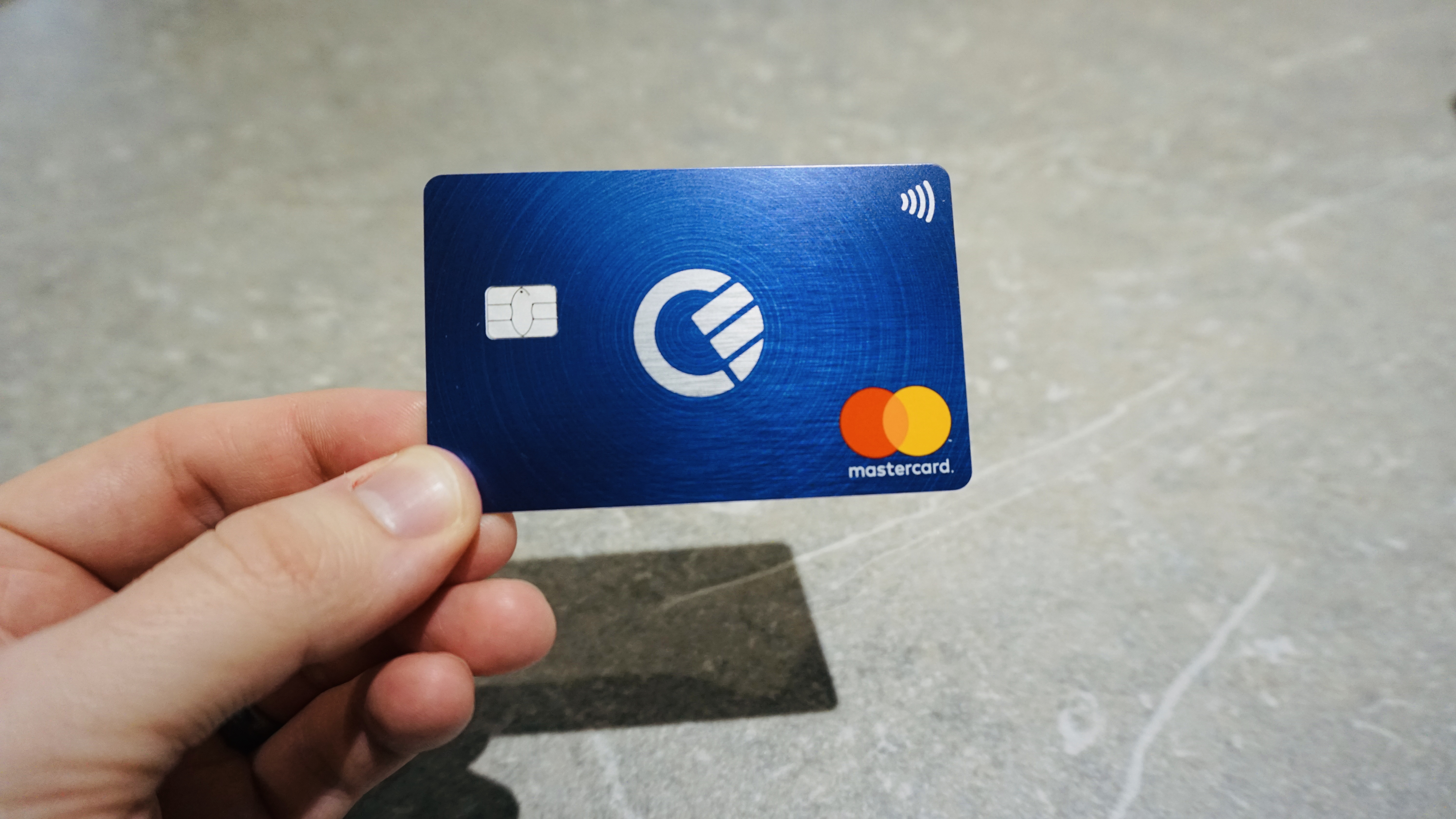 Curve All-in-one Debit Card
