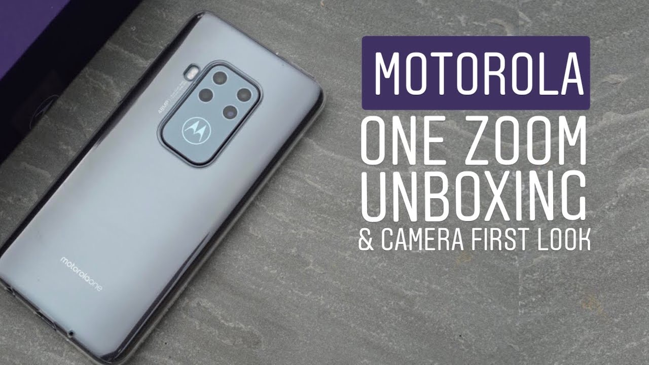 Motorola One Zoom Unboxing (Video)