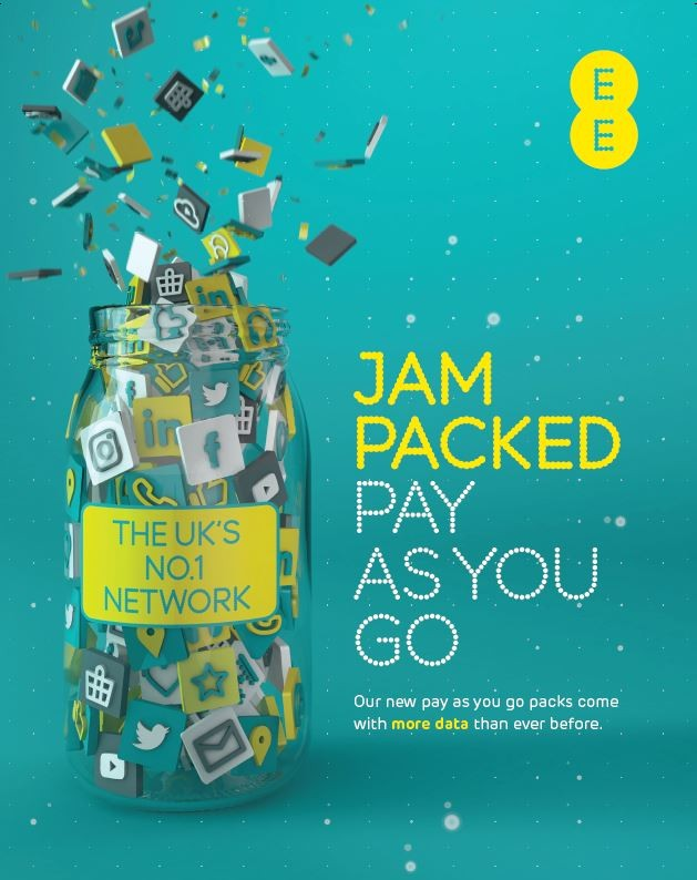 EE Launches New PAYG Packs