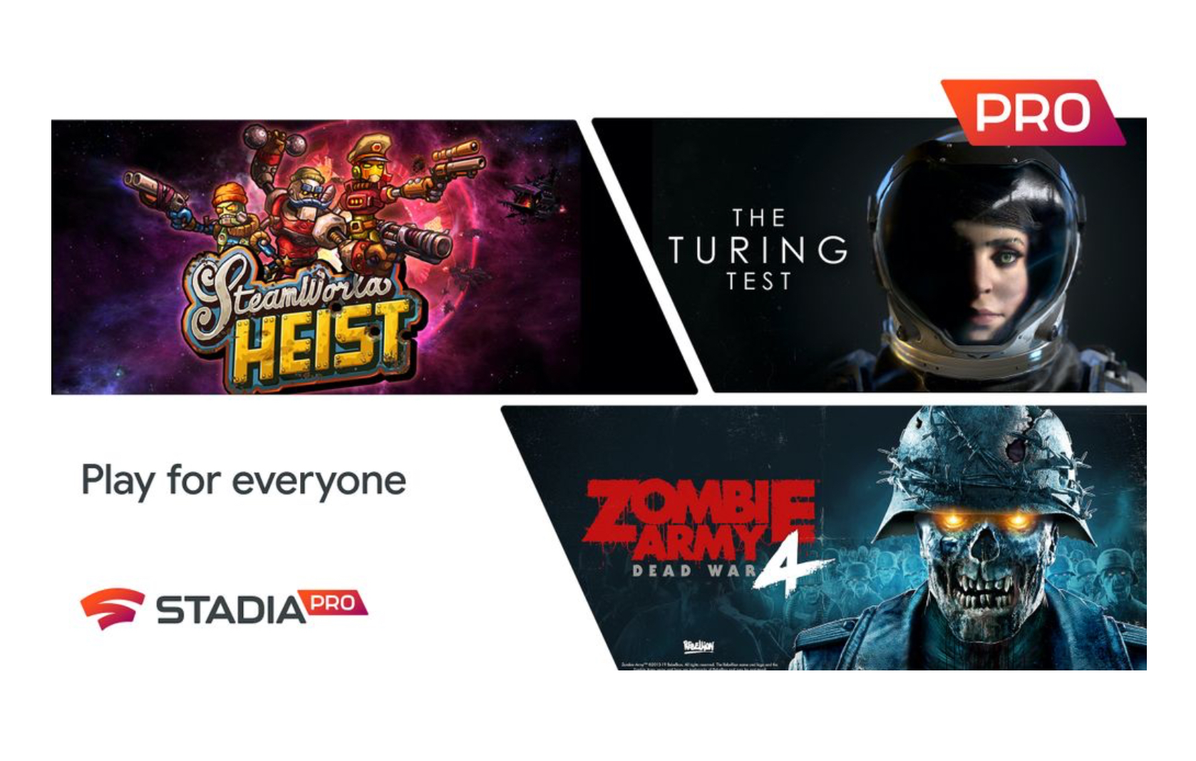 Stadia Pro Games for May and Wireless Controller Support for Chrome