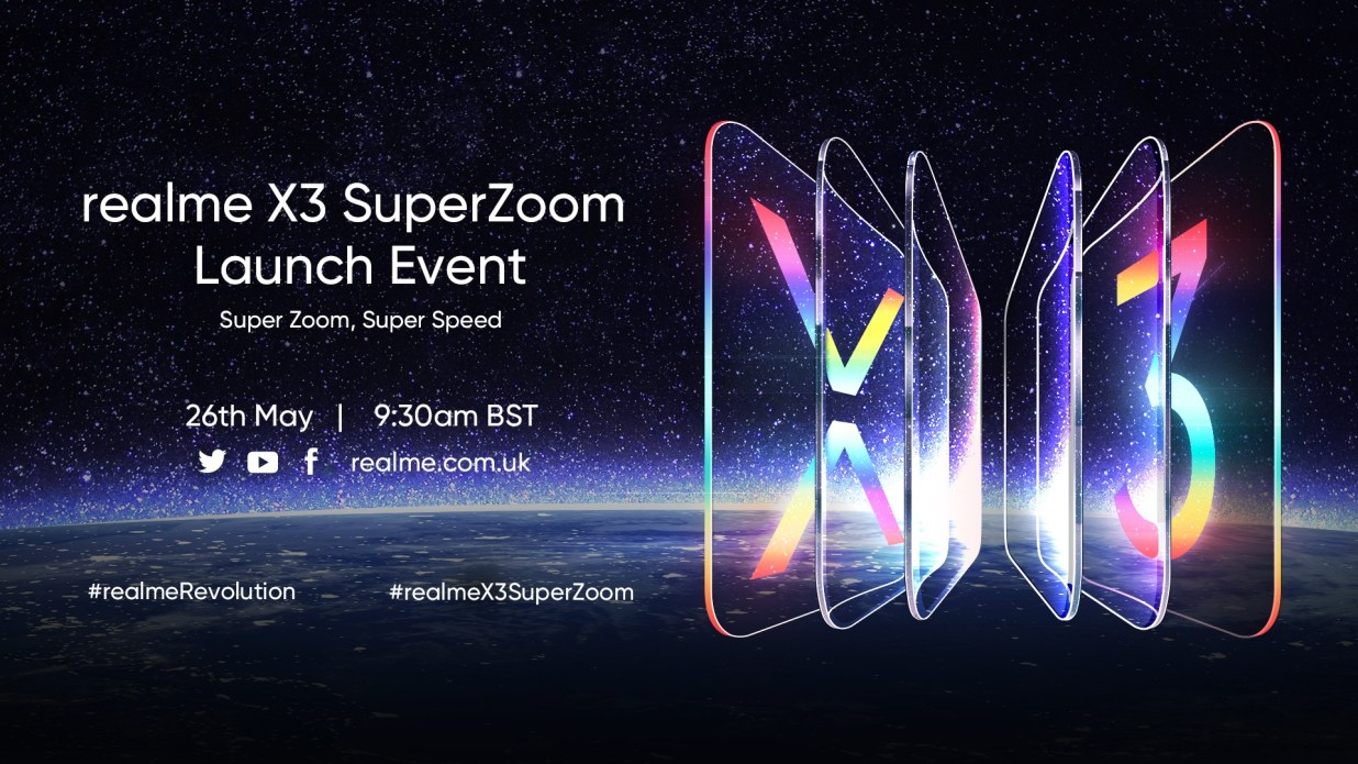Realme X3 Superzoom Launch Event