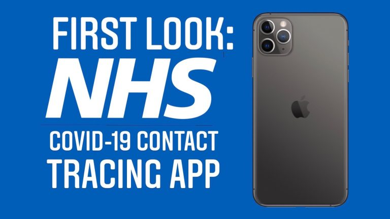 First Look: NHS COVID-19 Contact Tracing App