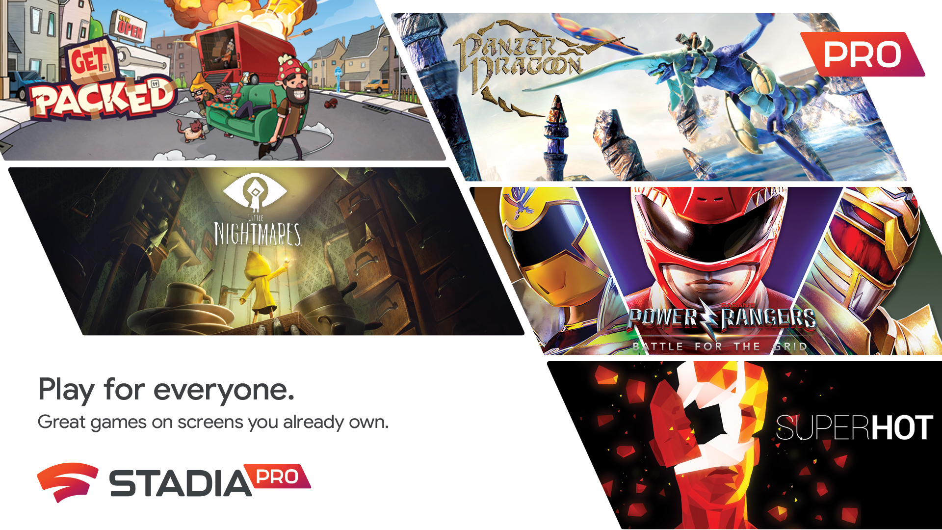 Five Stadia Pro Games Announced For June