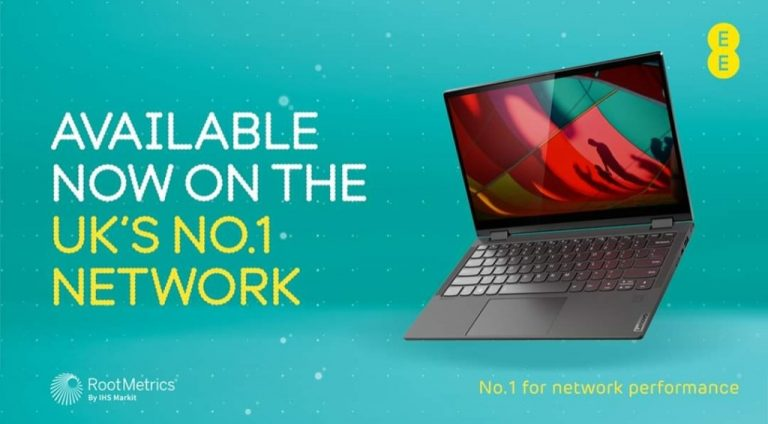 Lenovo Yoga C640 4G Now Available On EE