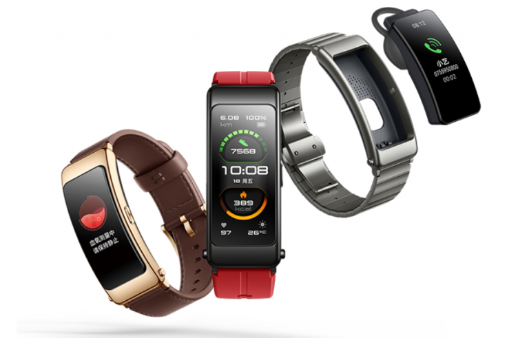 Huawei Launches The Talkband B6