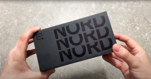 Uboxing The OnePlus Nord