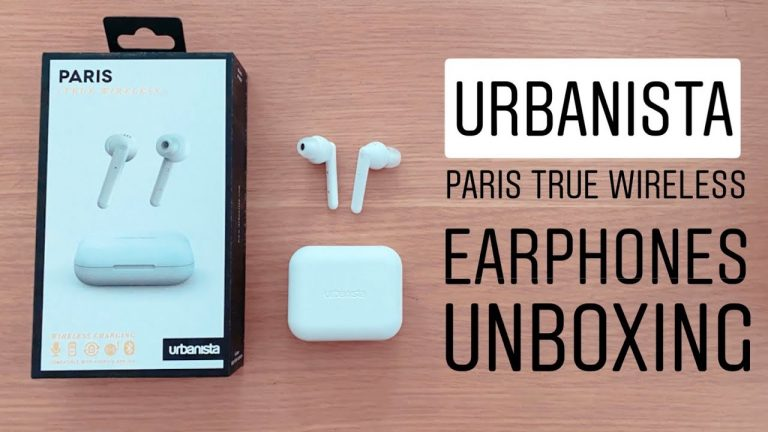 Urbanista Paris True Wireless Earphones Unboxing