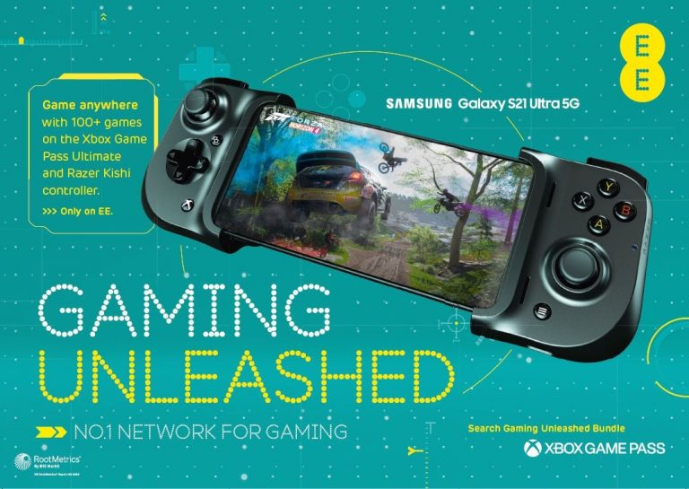 Samsung Galaxy S21 5G, S21 Plus 5G, And S21 Ultra 5G Now Available On EE's Award-Winning Network With Exclusive New Gaming Unleashed Bundle Featuring Xbox Game Pass