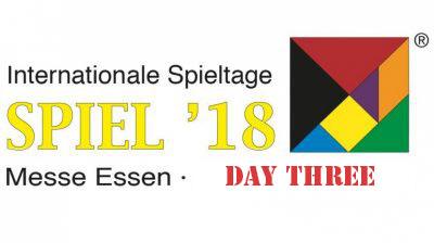 Day 3 Spiel Essen 2018, Still Going Strong [News]