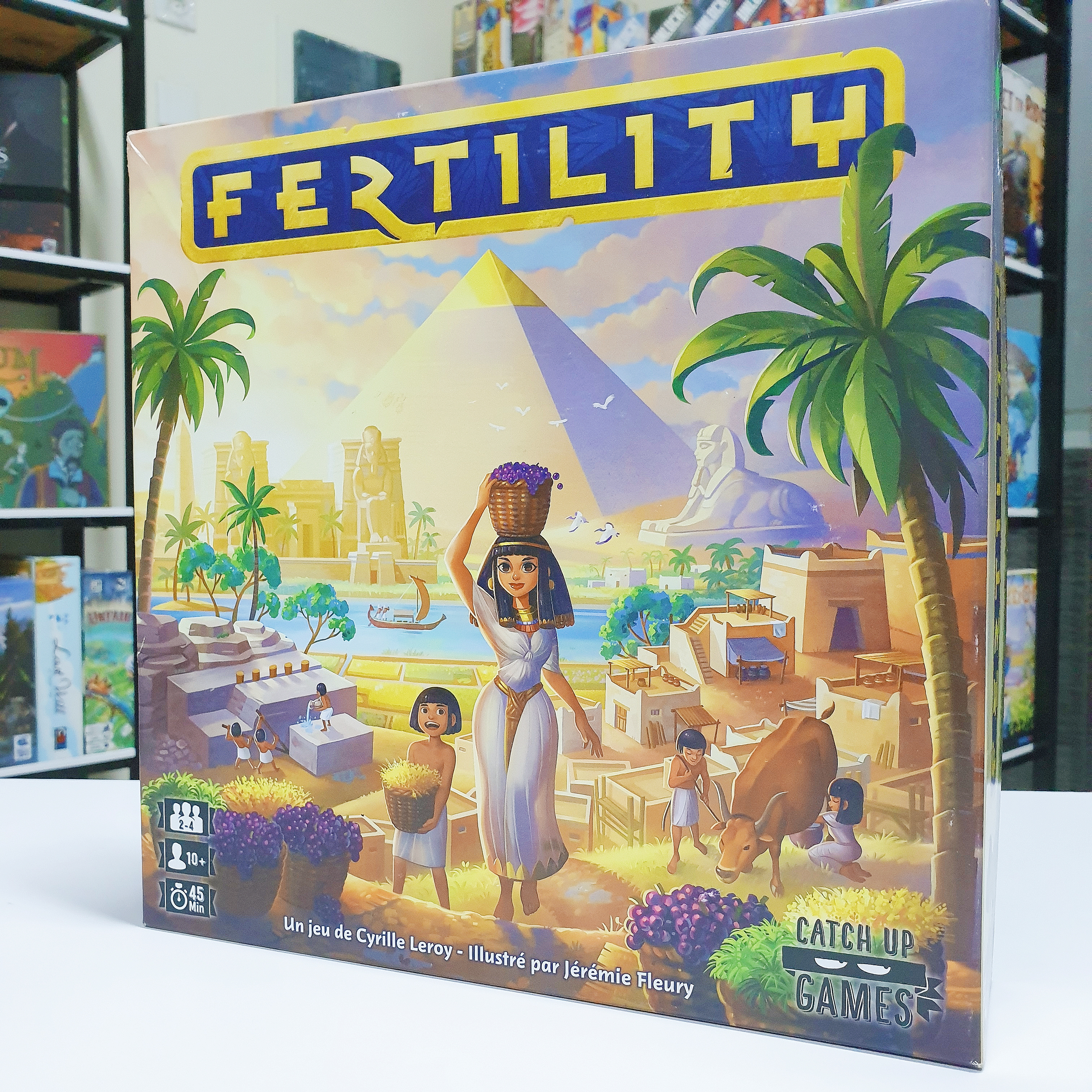 Fertility: Build the best Metropolis along the Nile [Review]