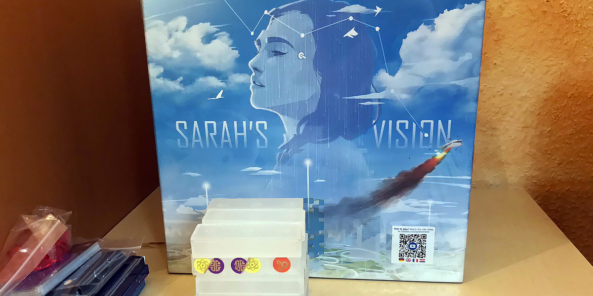 Sarah's Vision: Storytelling with dexterity [Review]
