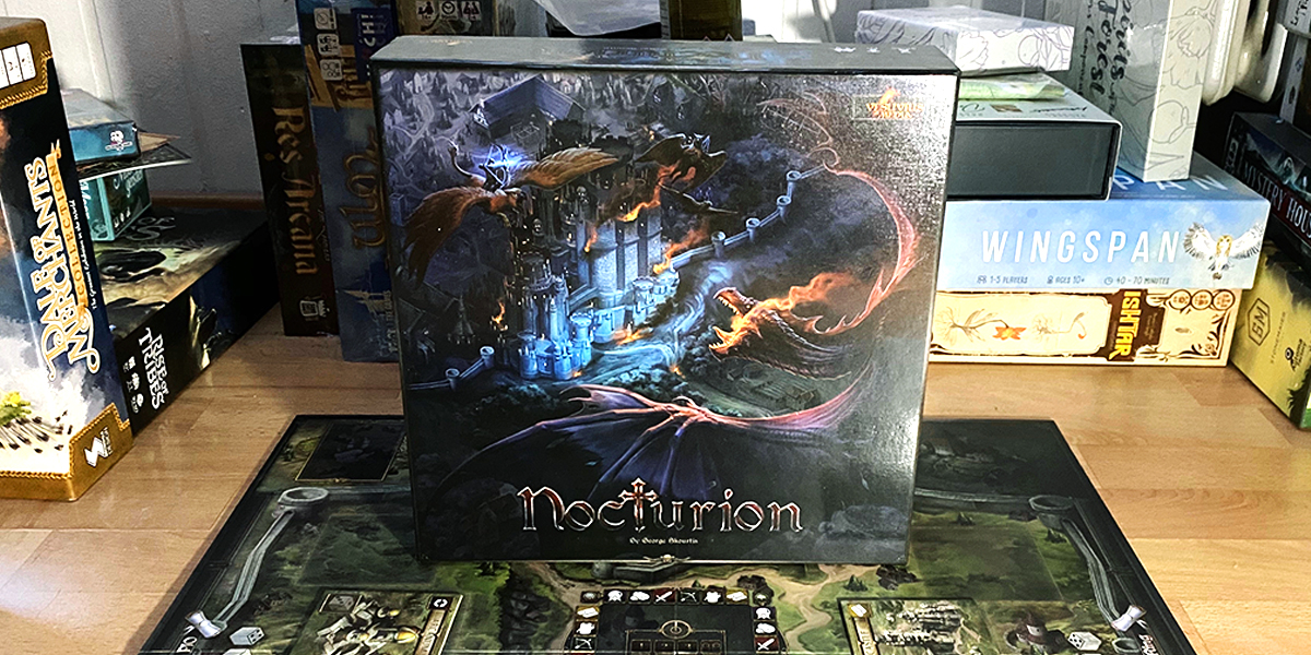 Nocturion: A euro game in the fantasy realm [Review]