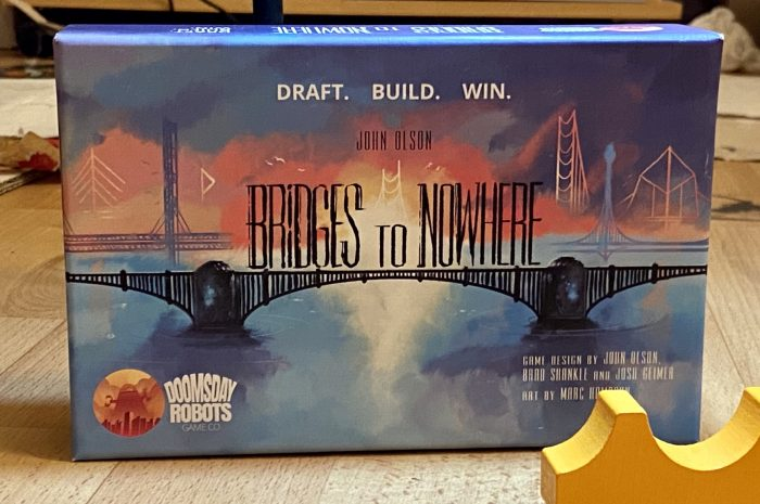 Bridges to Nowhere: A micro-game about potential mega-bridge