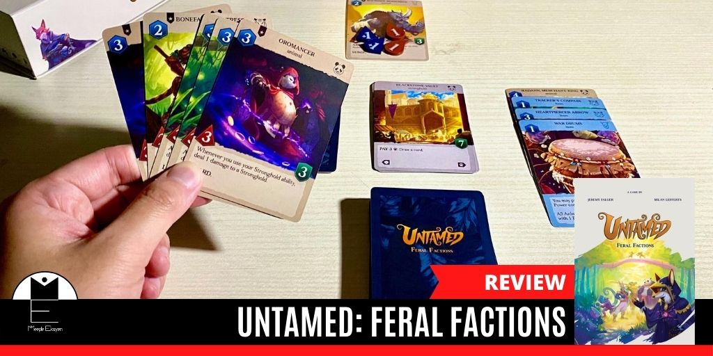 Untamed: Feral Factions, a potential great CCG [Review]