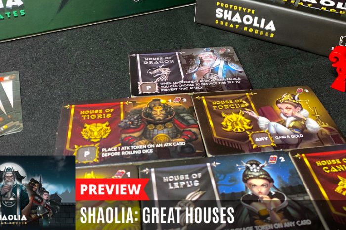 Shaolia: Great Houses, an upcoming expansion [Preview]