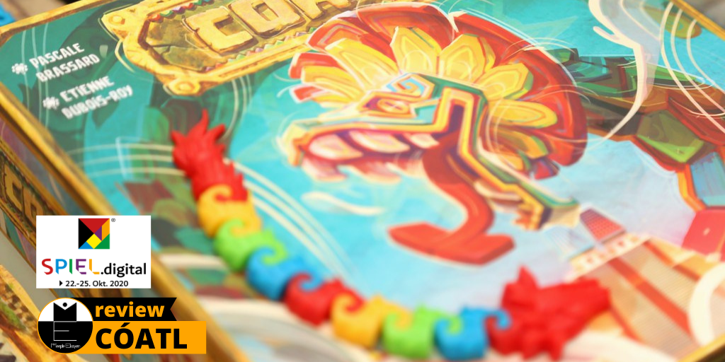 Cóatl: A feathered and colourful dragon-like snake // SPIEL.DIGITAL '20 [Review]