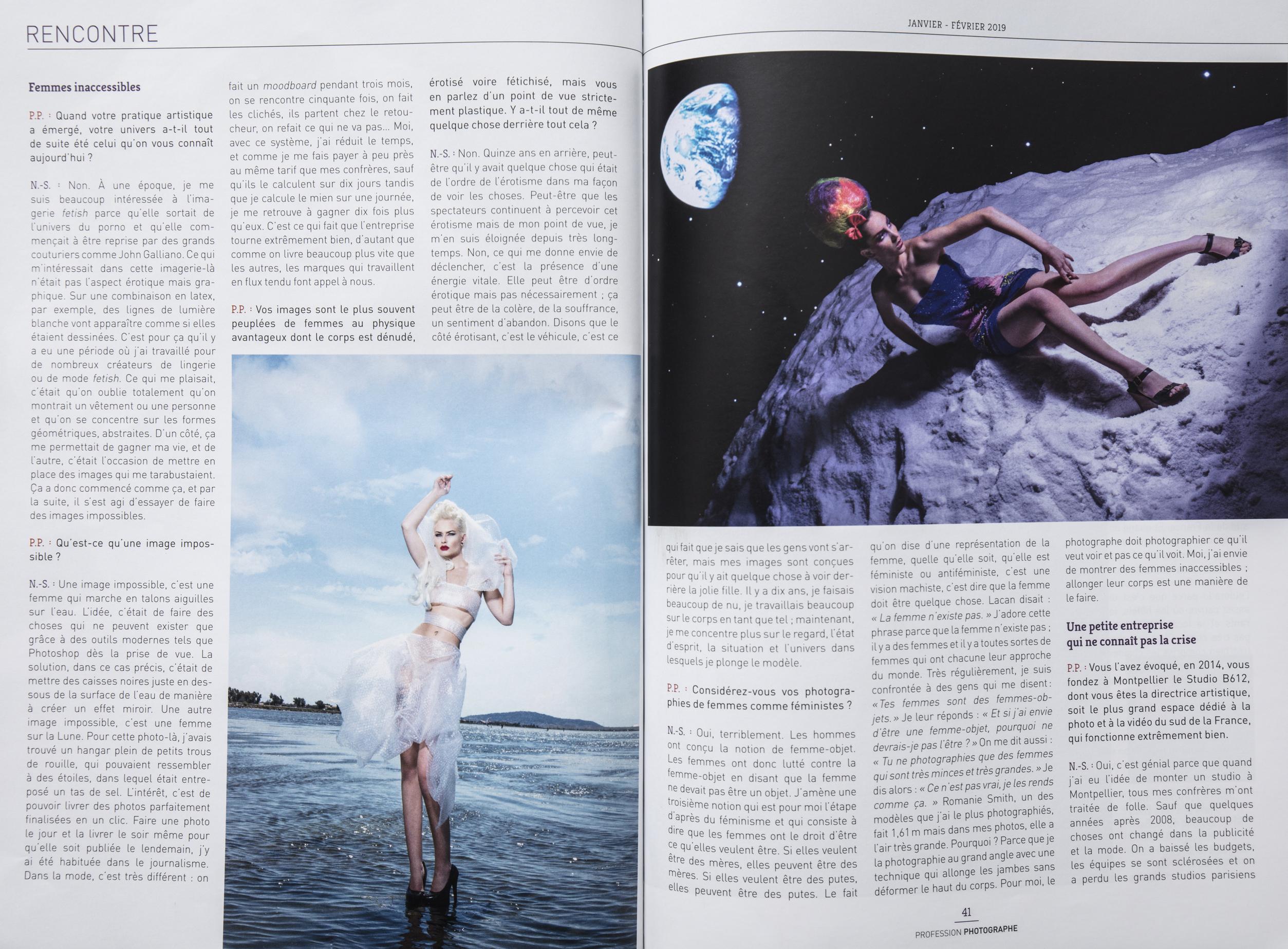 Interview de Nath-Sakura dans Profession photographe