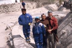 Leh, Wangtak, Getsok, Galden en Simon