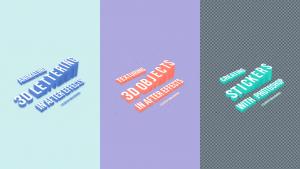 3D Lettering Class Series Thumbnails