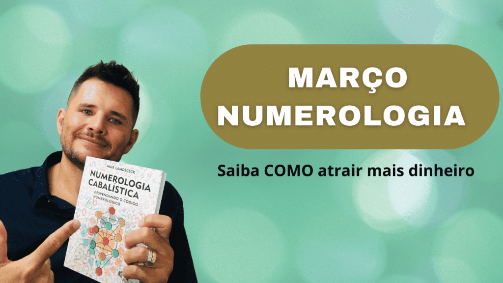MARÇO NUMEROLOGIA