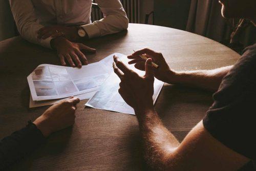 Dialog mit dem Kunden