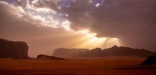 (Gem)einsam in Wadi Rum
