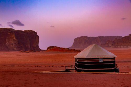 Ein Morgen in Wadi Rum