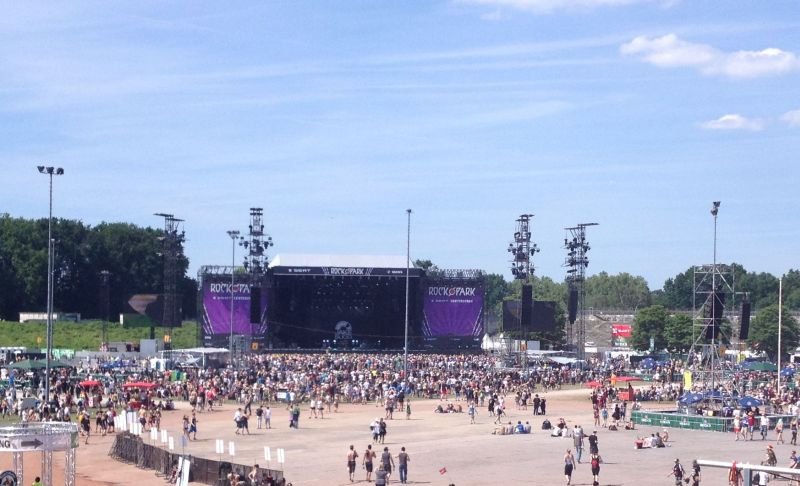 Rock im Park Festivalgelände