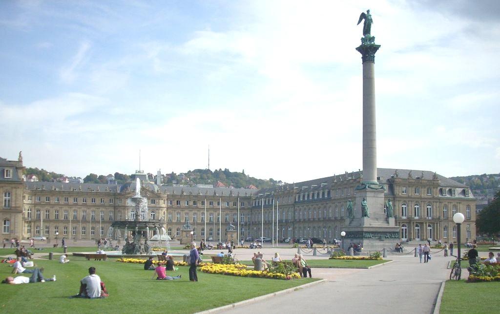 Deutschland ist schön: Stuttgart Schlossplatz
