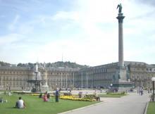 Stuttgart Schlossplatz