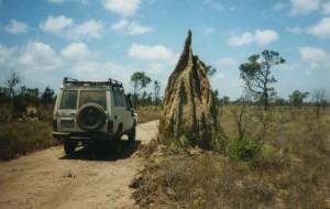 Reisetipp Australien: Termitenhügel im australischen Outback