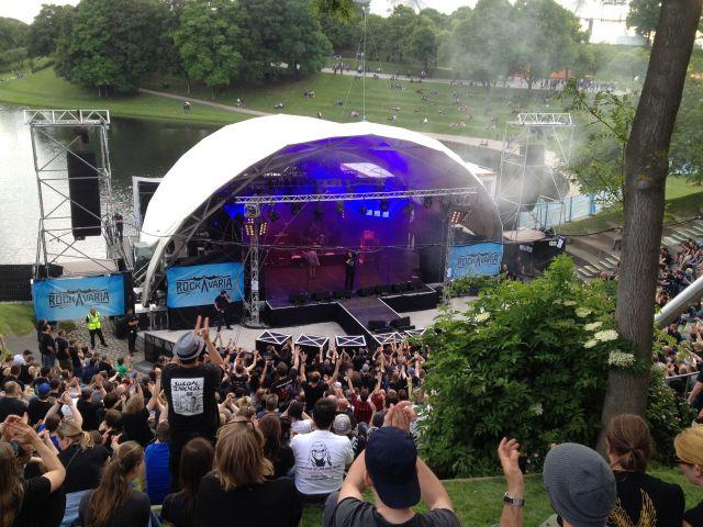 Festivalsommer: Rockavaria Festival in München, Olympiapark