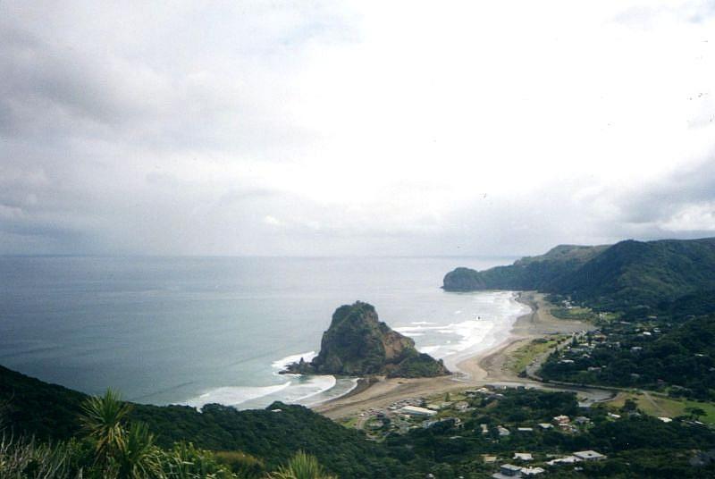 Mit dem Fahrrad von Auckland nach Piha