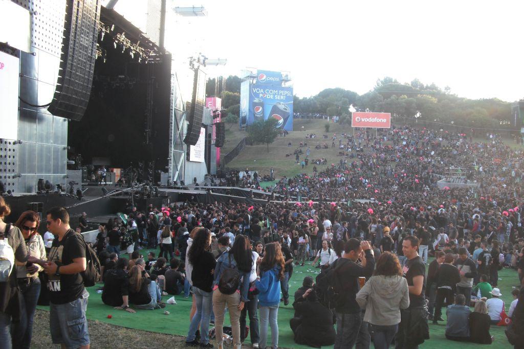 Rock in Rio in Lissabon 2012