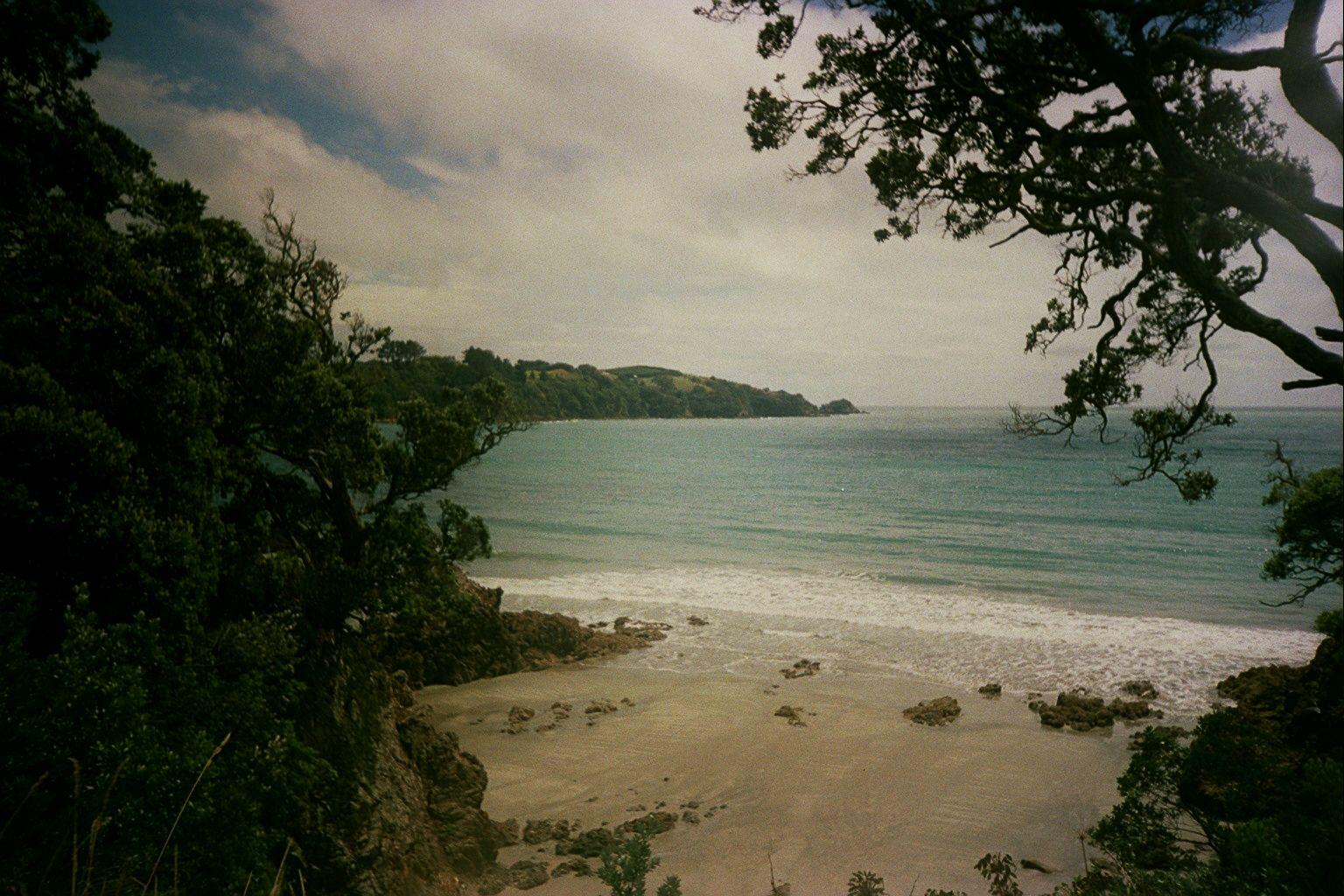 Lost auf Waiheke Island in Neuseeland