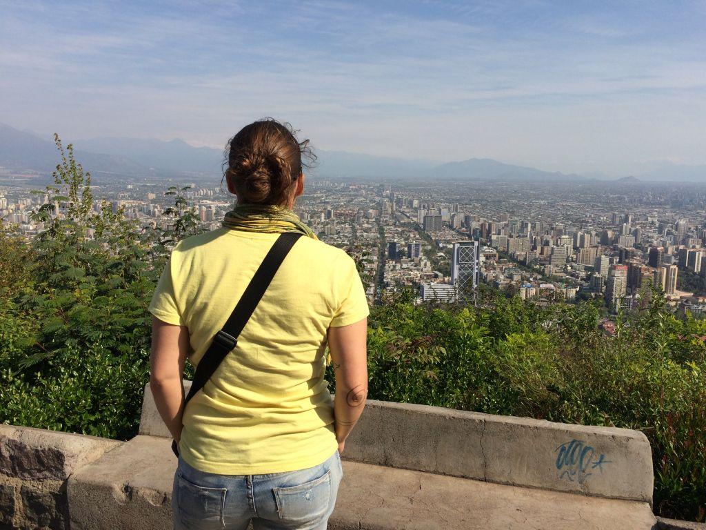 Aussichtspunkte in Santiago de Chile: Tolle Aussicht vom Cerro San Cristóbal