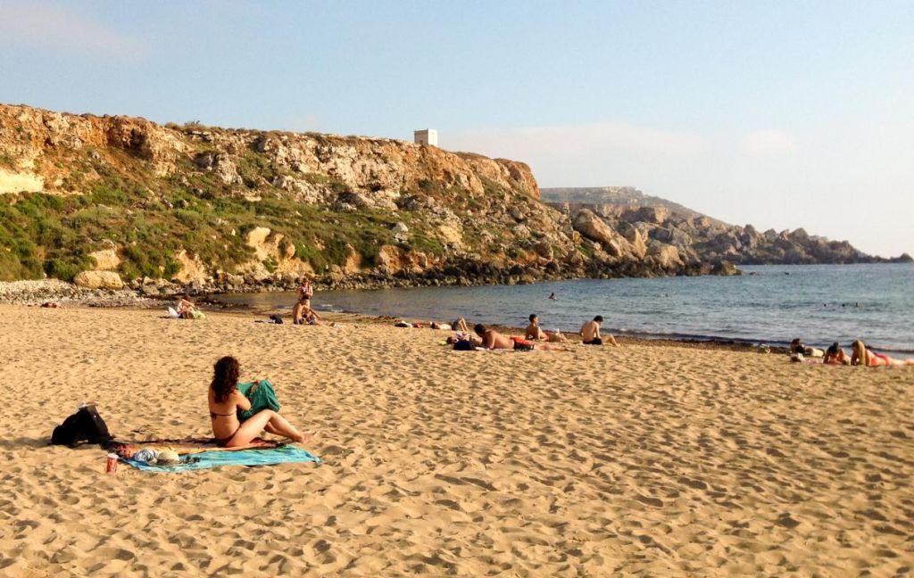 Sprachreise: Am Strand auf Malta